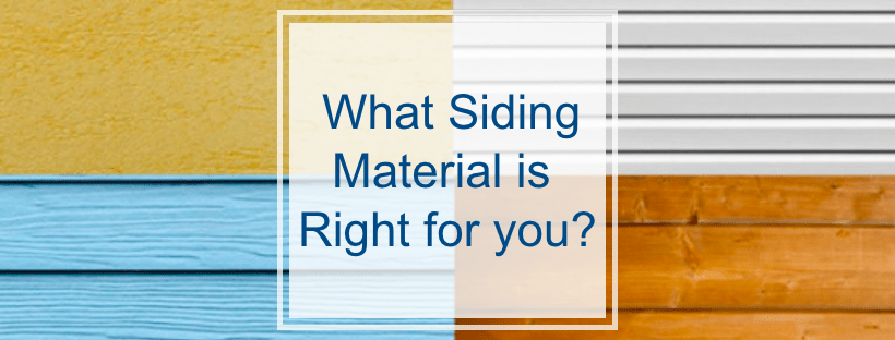 Siding: What Material is Best for my Home?