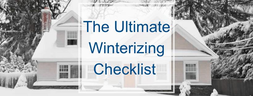 The Ultimate Winterizing Checklist