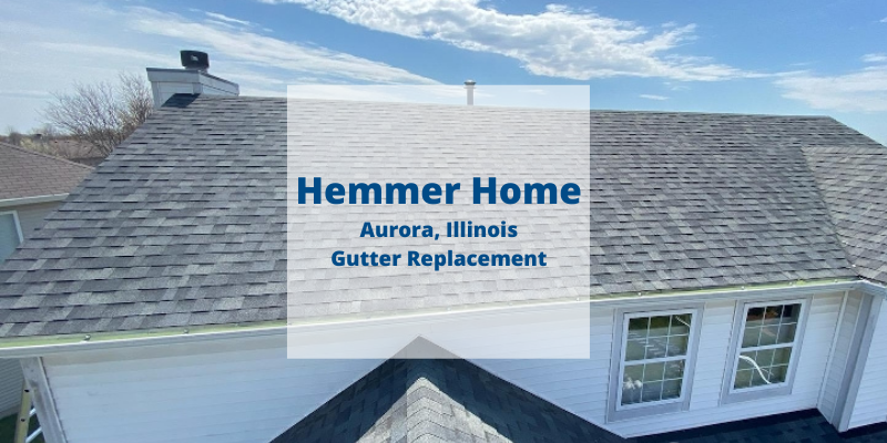 Aurora Gutter Replacement